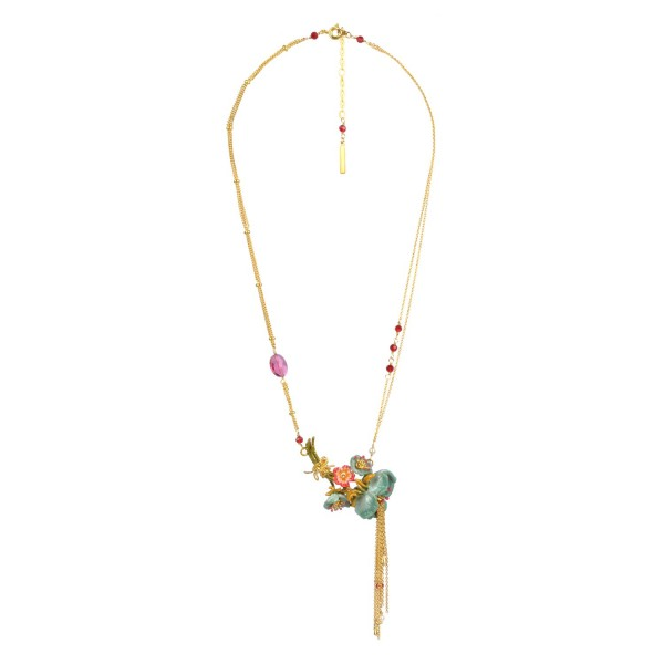 bouquet-of-blue-anemones-and-chains-necklace