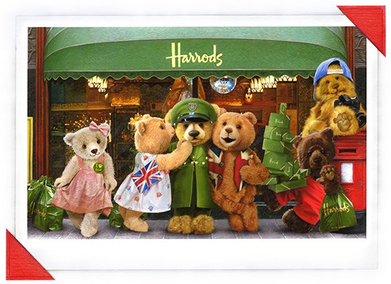 KiddyIncs_Harrods_Bear_Photo_Real_illustration_Adverstising_Campaign_Products